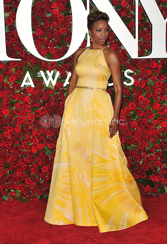 NEW YORK, NY - JUNE 12: Heather Headley at the 70th Annual Tony Awards at The Beacon Theatre on June 12, 2016 in New York City. Credit: John Palmer/MediaPunch