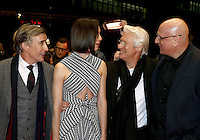 www.acepixs.com<br /> <br /> February 10 2017, Berlin<br /> <br /> (L-R) Actor Steve Coogan, actress Rebecca Hall, Director Oren Moverman and actor Richard Gere arriving at the premiere of 'The Dinner' during the 67th Berlinale International Film Festival Berlin at Berlinale Palace on February 10, 2017 in Berlin, Germany.<br /> <br /> By Line: Famous/ACE Pictures<br /> <br /> <br /> ACE Pictures Inc<br /> Tel: 6467670430<br /> Email: info@acepixs.com<br /> www.acepixs.com