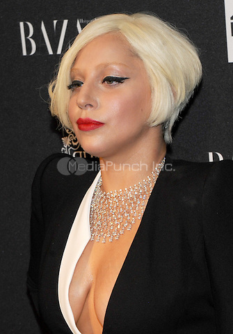 New York, NY-September 5: Lady Gaga  attends Harper's Baazar Celebrates Icons By Carine Roitfeld on September 5, 2014 at the Plaza Hotel in New York City. Credit: John Palmer/MediaPunch