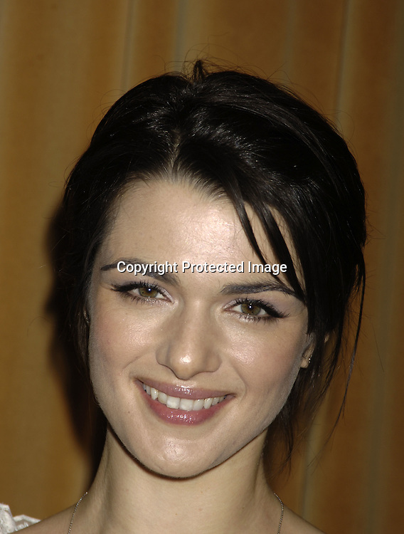 Rachel Weisz..at The Motion Picture Club's 65th Annual Awards and Installation Luncheon on October 6, 2005 at The New York Marriott Marquis Hotel. Matthew Broderick, Rachel Weisz, Ang Lee, Patrick Wilson and Michelle Williams were honored...Photo by Robin Platzer, Twin Images