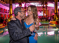 LAS VEGAS, NV - May 23 : Victor Drai and Giada DeLaurentiis pictured at Drai's Beach Club & Nightclub grand opening at The Cromwell in Las Vegas, NV on May 23, 2014. ©  Kabik/ Starlitepics ***HOUSE COVERAGE***