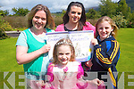 Aspiring actors and actresses can enjoy a musical camp in Glenflesk this July which will culminate in a live performance of 'Cinderalla the musical' on July 8th. .Back L-R Rosie Healy and Michelle O'Callaghan organisers of the camp and Aileen Healy. .Front L-R Eabha Healy 'Cinderella'. ..