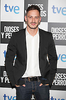 Elio Gonzalez poses at `Dioses y perros´ film premiere photocall in Madrid, Spain. October 07, 2014. (ALTERPHOTOS/Victor Blanco) /nortephoto.com
