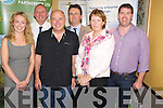 Pictured at the South Kerry Development Partnership networking event in the Killarney Court Hotel on Thursday evening were Joanne Griffin,enterprise officer SKDP, Michael Kenneally, Department of Social Protection, Pat Falvey, adventurer, Noel Spillane, CEO SKDP, Anne O'Riordan, enterprise officer SKDP and Paul Murphy, Skillnets. ................................................Christy O'Mahony, captain Beaufort Golf club and Irene McCarthy, Lady Captain Beaufort Golf Club pictured with James Lucey and Sheila McCarthy, who were the winners in their Captain Prize Competition at the course on Sunday. Also pictured are Frank Coffey, President, Sean Coffey, vice captain, Teresa Clifford, Margaret Guerin, Josephine O'Shea, Gretta Hurley, Renee Clifford, Peggy O'Riordan, Maureen Rooney, Mary Barrett, Robin Suter, Gearoid Keating, Jim Hurley, Gabhan O'Loughlin, Rory Browne, Mike Quirke, Matt Templeman and Simon Rainsford...Picture: Ger Cronin LMPA (087) 0522010....PR SHOT..NO REPRODUCTION FEE.............................................................................................................................................................................................................................................