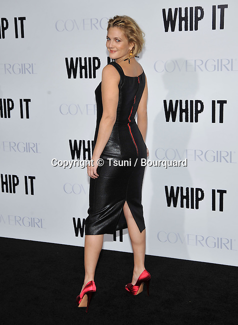 Drew Barrymore   -<br /> Whip It Premiere at the Chinese Theatre In Los Angeles.