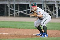 August 6, 2010: Boise Hawks first baseman Richard Jones (#22) during a Northwest League game against the Everett AquaSox at Everett Memorial Stadium in Everett, Washington.