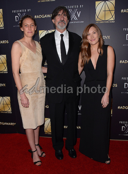 31 January  - Beverly Hills, Ca - Jack Fisk , Schuyler Fisk. Arrivals for the Art Director's Guild 20th Annual Production Design Awards held at Beverly Hilton Hotel. Studios. Photo Credit: Birdie Thompson/AdMedia