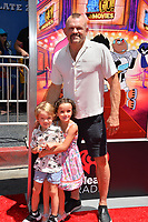 Chuck Liddell &amp; Guests at the premiere for &quot;Teen Titans Go! to the Movies&quot; at the TCL Chinese Theatre, Los Angeles, USA 22 July 2018<br /> Picture: Paul Smith/Featureflash/SilverHub 0208 004 5359 sales@silverhubmedia.com