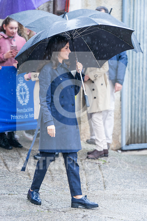 Queen Letizia of Spain during the visit to Asiego, the village who won the 'Exemplary Village Award' 2019. October 19, 2019 (Alterphotos/ Francis Gonzalez)