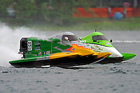 Tyler Welch (#59) and Mike McLellan (#104)     (Formula 1/F1/Champ class)