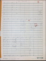 BNPS.co.uk (01202 558833).Pic: FameBureau/BNPS..Original studio arrangements of 'I Get Around'...Get me Wonga.....A 'lost' archive of original music manuscripts, contracts and pictures of the Beach Boys has emerged for sale for nearly seven million pounds...The vast collection, that spans the first 20 years of the band's hugely successful career and consists of thousands of documents, was found forgotten in a storage unit...The treasure trove includes the sheet music for the Beach Boys' classic hits like 'God Only Knows', 'Good Vibrations' and 'Fun, Fun, Fun.'..It also includes handwritten lyrucs, recording contracts and copyright certificates signed by Brian Wilson and Mike Love, musical arrangements, royalty cheques and personal letters...And there are more than 60 behind-the-scenes photos of the hugely successful American rock band, many of them never seen before..