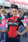 BMC Racing Team at the Team Presentation in Alghero, Sardinia for the 100th edition of the Giro d'Italia 2017, Sardinia, Italy. 4th May 2017.<br /> Picture: Eoin Clarke | Cyclefile<br /> <br /> <br /> All photos usage must carry mandatory copyright credit (&copy; Cyclefile | Eoin Clarke)