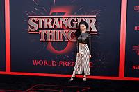 "LOS ANGELES - JUN 28:  Sierra Capri at the ""Stranger Things"" Season 3 World Premiere at the Santa Monica High School on June 28, 2019 in Santa Monica, CA"