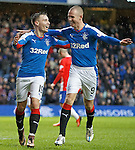 Barrie McKay and Kenny Miller