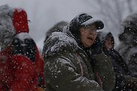 Finish of junior Iditarod