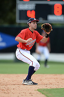 Atlanta Braves shortstop Alejandro Salazar (67) during an Instructional League game against the Houston Astros on September 22, 2014 at the ESPN Wide World of Sports Complex in Kissimmee, Florida.  (Mike Janes/Four Seam Images)