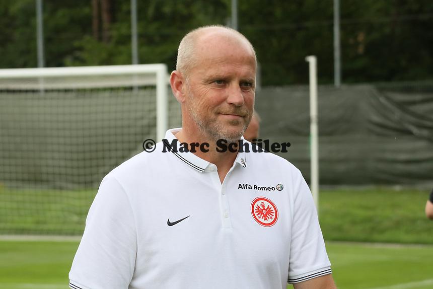 Trainer Thomas Schaaf (Eintracht)