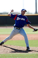 Mark Hamburger  -Texas Rangers - 2009 spring training.Photo by:  Bill Mitchell/Four Seam Images