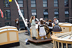 Children on educational visit, SS Great Britain maritime museum, Bristol, England
