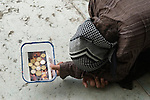 Venice Italy 2009. Rumanian gypsy woman begging.