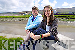 Bernadette White and Nora Duggan who are planning to swim the Irish Channel.