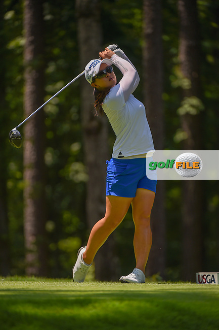 Sei Young Kim (KOR) watches her tee shot on 2 during round 1 of the U.S. Women's Open Championship, Shoal Creek Country Club, at Birmingham, Alabama, USA. 5/31/2018.<br /> Picture: Golffile   Ken Murray<br /> <br /> All photo usage must carry mandatory copyright credit (© Golffile   Ken Murray)