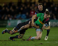 Harlequins' Luke Northmore in action during todays match<br /> <br /> Photographer Bob Bradford/CameraSport<br /> <br /> European Rugby Heineken Champions Cup Group C - Bath Rugby v Harlequins - Friday 10th January 2020 - The Recreation Ground - Bath<br /> <br /> World Copyright © 2019 CameraSport. All rights reserved. 43 Linden Ave. Countesthorpe. Leicester. England. LE8 5PG - Tel: +44 (0) 116 277 4147 - admin@camerasport.com - www.camerasport.com