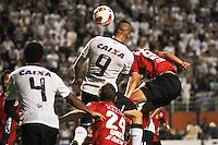 SÃO PAULO,SP,13 MARÇO 2013 - COPA LIBERTADORES AMÉRICA 2013 - CORINTHIANS (Bra) x THIJUANA (MEX) - Guerrero jogador do Corinthians durante partida Corinthians x Thijuana válido pela 4º rodada da Copa Libertadore América 2013 no Estádio Paulo Machado de Carvalho (Pacaembu) na noite desta quarta feira (13).FOTO ALE VIANNA - BRAZIL PHOTO PRESS.