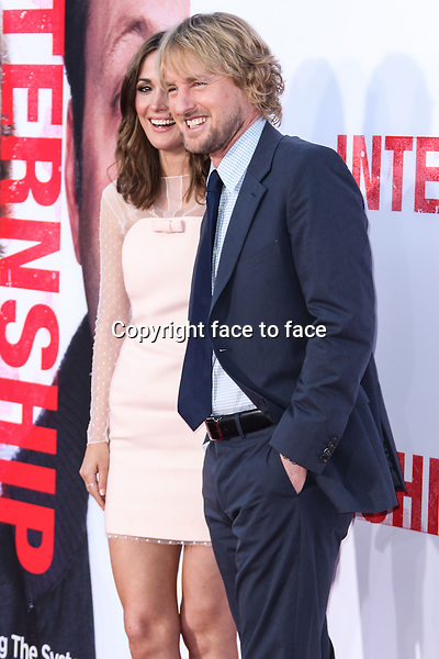 Rose Byrne, Owen Wilson arrives at &quot;The Internship&quot; World Premiere held at Regency Village Theatre on May 29, 2013 in Westwood, California. (Credit: RTNXC/MediaPunch Inc.)<br />