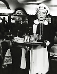 Lyons Nippy serving tea 1940s