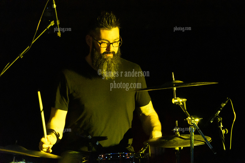 Ryan Lunderville on Drums with Steal Your Funk Featuring Doug Wimbish and Tim Palmieri at The Stone Church Brattleboro VT on 7 April 2018