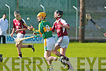 Causeway's Conor Harty Lixnaw's Raymond Galvin.   Copyright Kerry's Eye 2008