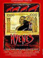 Hyenas (1992) <br /> (Hyenes)<br /> POSTER ART<br /> *Filmstill - Editorial Use Only*<br /> CAP/MFS<br /> Image supplied by Capital Pictures