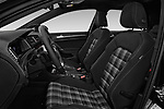 Front seat view of 2017 Volkswagen Golf GTD 5 Door Hatchback front seat car photos