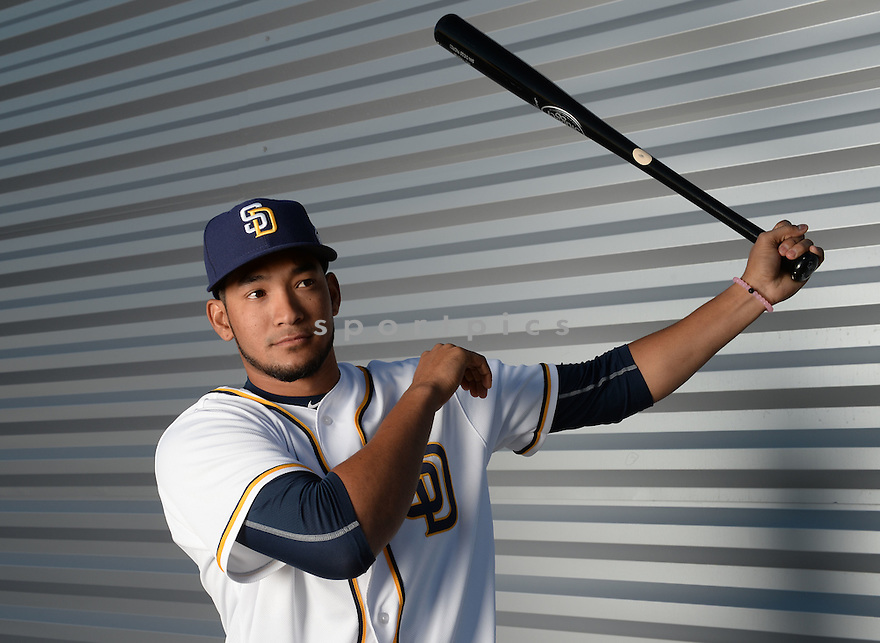San Diego Padres Jose Rondon (72) during photo day on February 26, 2016 in Peoria, AZ.