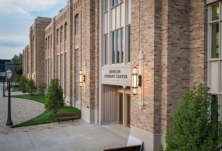 August 28, 2017; Duncan Student Center (Photo by Matt Cashore/University of Notre Dame)