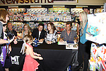 """Days Of Our Lives - Greg Meng  (co-executive producer and author of this and Greg Meng - Melissa - Drake - Lauren - Wally and fans meet the fans as they sign """"Days Of Our Lives Better Living"""" on September 27, 2013 at Books-A-Million in Nashville, Tennessee. (Photo by Sue Coflin/Max Photos)"""