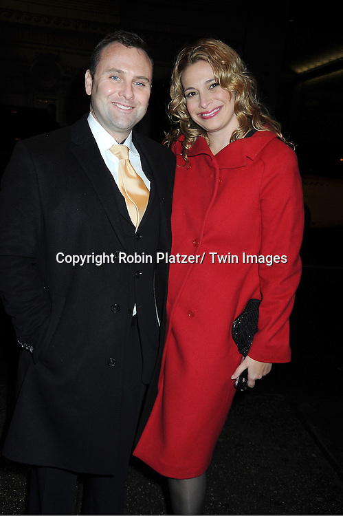 Dr Allan Stewart and wife Donatella Arpaia attends The Today Show's 60th Anniversary celebration party on January 12, 2012 at The Edison Ballroom in New York City.