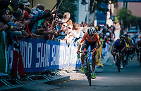 Annemiek van Vleuten (NED/Mitchelton-Scott)<br /> <br /> WOMEN ELITE ROAD RACE<br /> Kufstein to Innsbruck: 156.2 km<br /> <br /> UCI 2018 Road World Championships<br /> Innsbruck - Tirol / Austria