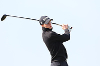 Luke O'Neill (Connemara) on the 1st tee during Round 3 of The West of Ireland Open Championship in Co. Sligo Golf Club, Rosses Point, Sligo on Saturday 6th April 2019.<br /> Picture:  Thos Caffrey / www.golffile.ie