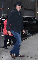 NEW YORK, NY - OCTOBER 9: Trace Adkins seen at ABC's Strahan, Sara & Keke in New York city on October 09, 2019. Credit: RW/MediaPunch