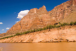 Scenic of Colorado River at the bottom of Grand Canyon, Arizona, AZ, cliffs, landscape, horizontal, arid, erosion, Image nv449-18560.Photo copyright: Lee Foster, www.fostertravel.com, lee@fostertravel.com, 510-549-2202