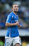 St Johnstone v Alashkert FC...09.07.15   UEFA Europa League Qualifier 2nd Leg<br /> Chris Kane<br /> Picture by Graeme Hart.<br /> Copyright Perthshire Picture Agency<br /> Tel: 01738 623350  Mobile: 07990 594431