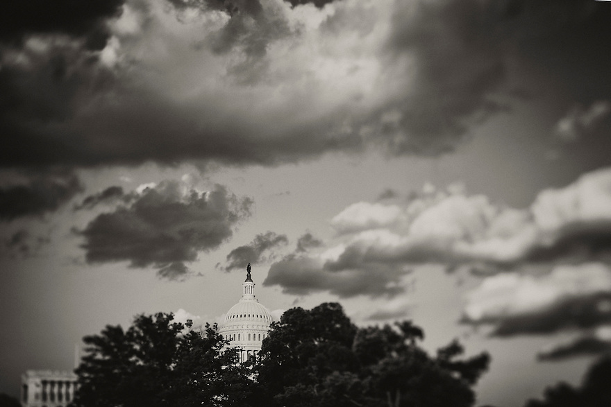The United States Capitol building in Washington, DC.