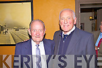 At the launch of 'Secrets of Kerry - A Captains Story' in Ca?itins Bar, Kells on Friday night were L-r; Franki Walsh - Captain of the Waterford Hurling Team to win the 1959 All Ireland and Jas Murphy Captain of the Kerry Team to win The All Ireland Football title in 1953.