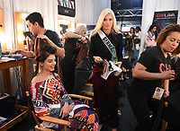 BANGKOK, THAILAND - DECEMBER 16: 2018 MISS UNIVERSE: Miss Germany Céline Flores Willers during rehearsals for the 2018 MISS UNIVERSE competition at the Impact Arena in Bangkok, Thailand on December 16, 2018. Miss Universe will air live on Sunday, Dec. 16 (7:00-10:00 PM ET live/PT tape-delayed) on FOX.  (Photo by Frank Micelotta/FOX/PictureGroup)