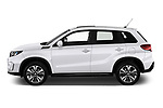 Car driver side profile view of a 2019 Suzuki Vitara Grand Luxe Xtra 5 Door SUV