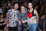 03.09.2012. Celebrities attending the Carlos Diez and Maria Escote fashion show during the Mercedes-Benz Fashion Week Madrid Spring/Summer 2013 at Ifema. In the image Eduardo Casanova, his grandmother and Pilar Rubio (Alterphotos/Marta Gonzalez)