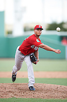 Boston Red Sox pitcher Francisco Lopez-Soto (65) during an Instructional League game against the Minnesota Twins on September 23, 2016 at JetBlue Park at Fenway South in Fort Myers, Florida.  (Mike Janes/Four Seam Images)