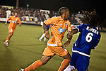 September 12, 2009. Cary, NC..The Carolina Railhawks took over the #2 spot in the league after a 2-1 victory over the Puerto Rico Islanders..#8 Matt Watson, center.